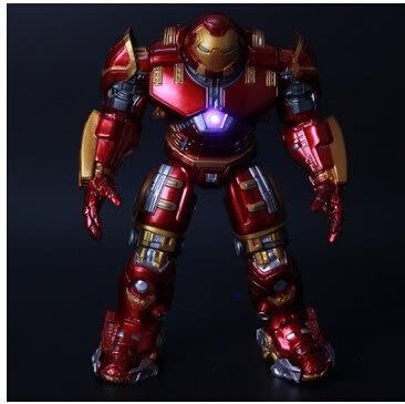 復仇者聯盟2鋼鐵俠人偶模型  可發光 袋裝普通版【藍星居家】