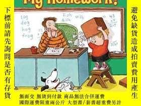 二手書博民逛書店My罕見Dog Ate My Homework!-我的狗吃了我的作業!Y346464 Bruce Lansky