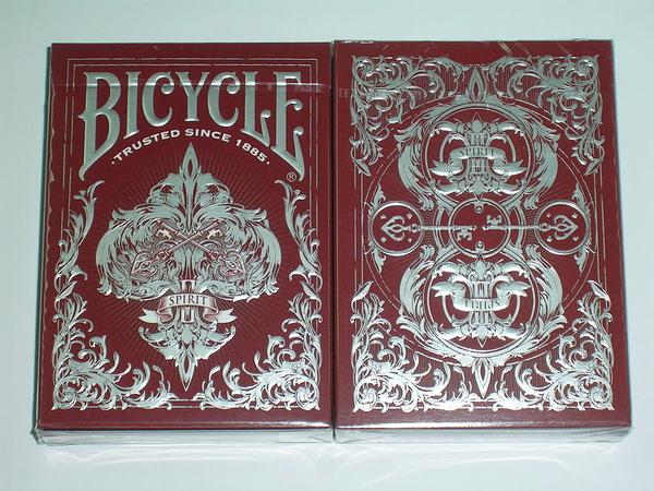 【USPCC 撲克】Bicycle spirit-2 red