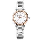 TITONI 梅花麥 瑞士 時尚 機械錶 快拆式 女錶 (23978SRG-622) /玫塊金框/33.5mm