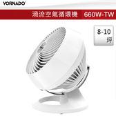 【免運費】VORNADO 沃拿多 660渦流空氣循環機(白) / 8-10坪 / 660W-TW