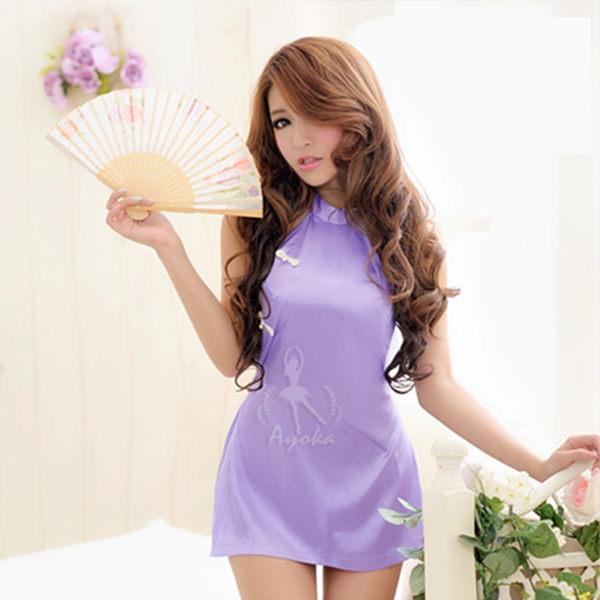 東方美姬角色扮演!肚兜二件式短旗袍 情趣睡衣 《SV7743》快樂生活網