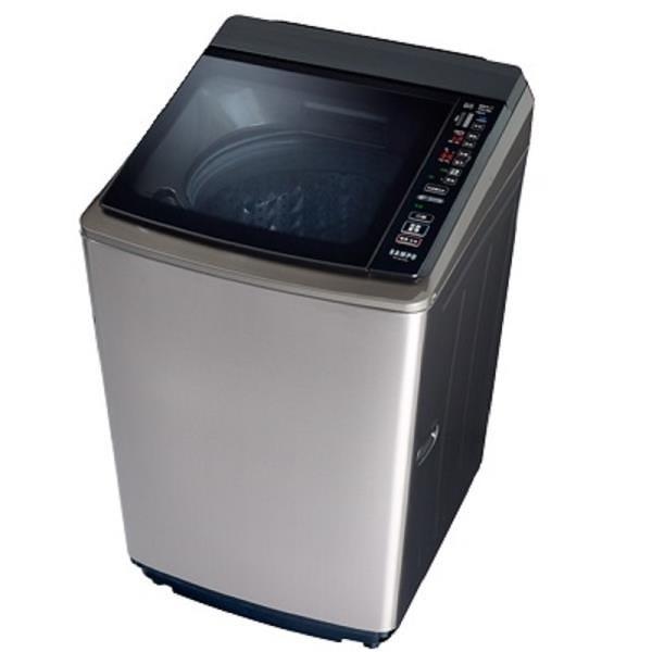 【南紡購物中心】SAMPO 聲寶 18KG PICO PURE 變頻直立式洗衣機 ES-KD19PS(S1)
