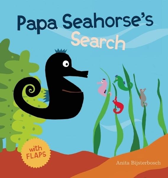 【麥克書店】PAPA SEAHORSE'S SEARCH /英文繪本翻翻書《主題:尋找遊戲.父親節》