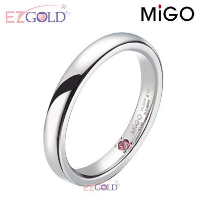 MiGO鋼飾♥珍愛♥鋼飾戒指(女)