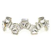 chicist 璀璨印加硬式手環 (銀)