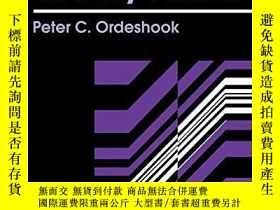 二手書博民逛書店A罕見Political Theory PrimerY256260 Peter C. Ordeshook Ro