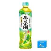御茶園日式生茶550MLx4【愛買】