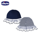 chicco-花瓣公主-直條花朵雙面帽
