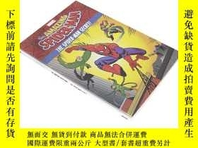 二手書博民逛書店超凡蜘蛛俠罕見英文原版 The Amazing Spider 漫威Marvel漫畫故事書青少年課外讀物Y210