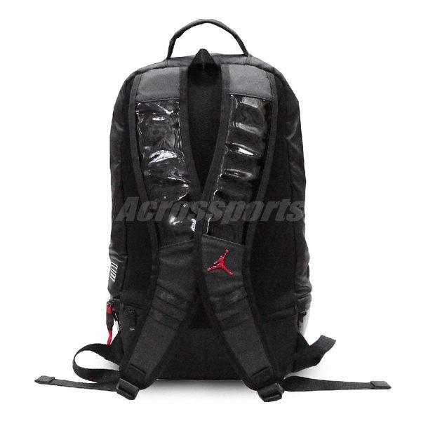 ... Nike 後背包Air Jordan Retro 11 Backpack Bred 黑紅男女款大容量11 ... 0cdb29bead