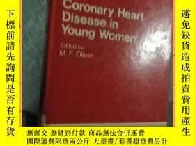 二手書博民逛書店英文書罕見coronary heart disease in young women 年輕女性冠心病Y1635