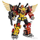 王者威將變形金剛玩具 天元沖云霄巨靈霄五合體威將機器人模型 CJ6047『科炫3C』