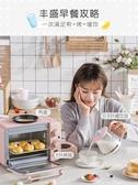麵包機 家用多士爐小烤箱熱牛奶三合一早餐神器多功能烤面包機 莎瓦迪卡