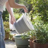 釣魚桶 折疊水桶手提可伸縮塑料家用便攜式加厚旅行戶外車載洗車桶釣魚桶 夢藝家