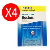 【預購】4罐一組 博視頓Boston酵素除蛋白清潔液5ml(硬式隱形眼鏡專用)  博士倫