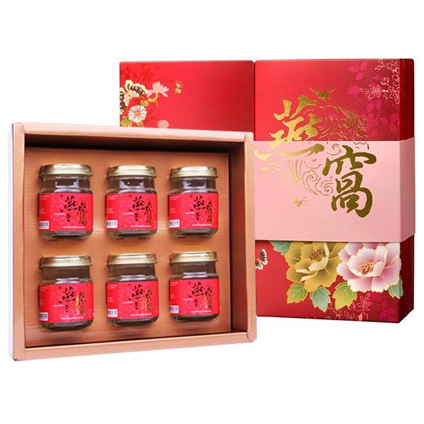 順天本草 冰糖燕窩禮盒(6瓶/盒)x1