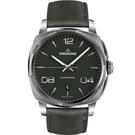 Anonimo EPURATO義式經典機械腕錶-墨水綠/42mm