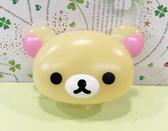【震撼精品百貨】Rilakkuma San-X 拉拉熊懶懶熊~造型臉型浴掛吸盤-妹妹#51060