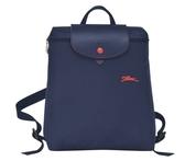 LONGCHAMP 1699 女士織物小號手提單肩雙肩包購物袋