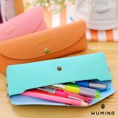 新款 馬卡龍 皮革 筆袋 鉛筆盒 文具袋 零錢包 收納包 硬幣包 化妝包 手提包 小包包 『無名』 K05105