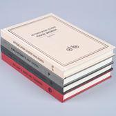 日韓國文具復古簡約加厚筆記本A5文藝學生日記本創意商務記事本子  巴黎街頭