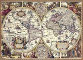 【拼圖總動員 PUZZLE STORY】古地圖 日本進口拼圖/Beverly/600P