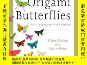 二手書博民逛書店Michael罕見Lafosse s Origami Butterflies-邁克爾·拉福斯的折紙蝴蝶Y436
