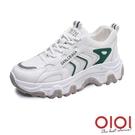 休閒鞋 韓妞日常增高老爹鞋(綠) *0101shoes【18-H3gen】【現+預】