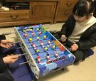 足球桌 桌上足球皇冠足球臺六桿親子游戲3歲男兒童生日禮物6益智玩具8歲 WJ百分百