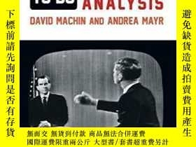 二手書博民逛書店How罕見To Do Critical Discourse Analysis-如何進行批評性話語分析Y4366