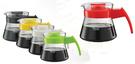 【Tiamo玻璃咖啡壺450cc】- 電木把手 通過SGS檢測 寬大口徑 清洗輕鬆