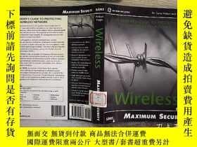 二手書博民逛書店Maximum罕見Wireless Security 最大的無線