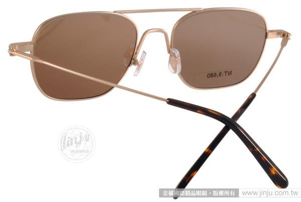 STEALER 太陽眼鏡 ILLUSION C21M (金-黃) 現代元素率性飛行水銀鏡面款 # 金橘眼鏡