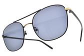 PAUL HUEMAN 太陽眼鏡 PHS882D 05 (黑金-藍鏡片) 韓風造型飛官鏡面款 墨鏡 # 金橘眼鏡