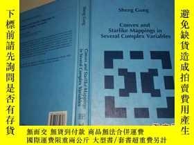 二手書博民逛書店Convex罕見and Starlike Mappings in Several Complex Variable
