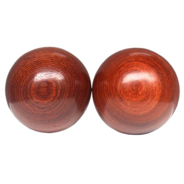 花梨木質健身球保健手球