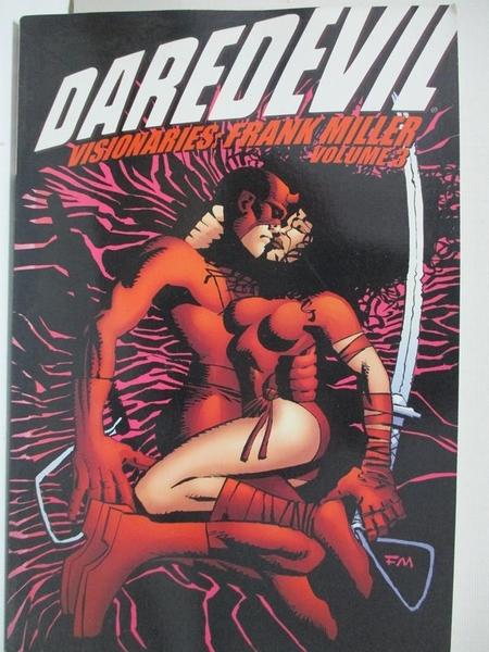 【書寶二手書T4/藝術_FLP】Daredevil Visionaries: Frank Miller_Miller_3第3集