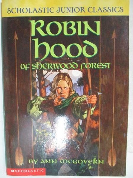 【書寶二手書T1/原文小說_AYA】Robin hood of sherwood forest