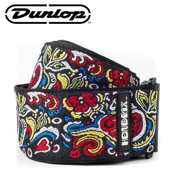 小叮噹的店-Dunlop JH03 背帶 JIMI HENDRIX LOVE DROPS