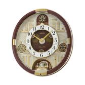 CASIO 手錶專賣店 SEIKO 精工 掛鬧鐘 QXM377B 水晶限量版音樂掛鐘 燈光感應 44.3公分