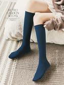 長襪子秋冬款保暖加厚加絨冬季學院風長筒小腿襪日系韓版及膝襪