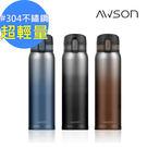 【AWSON】304不銹鋼冰熱彈跳式真空保溫杯480ml(ASM81)