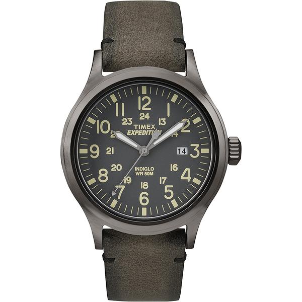 【TIMEX】天美時EXPEDITION遠征戶外系列手錶(深灰 TXT4B01700)