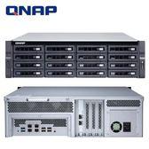 QNAP 威聯通 TS-1673U-RP-8G 16Bay NAS 網路儲存伺服器