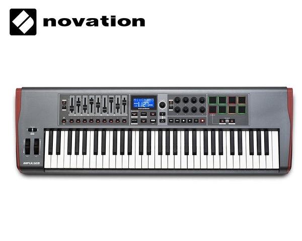 Novation Impulse 61鍵 USB MIDI 主控鍵盤