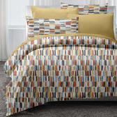 美式羽絲棉床包兩用被四件組 雙人 高更