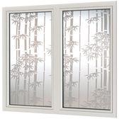 自粘玻璃貼膜不透明窗戶貼紙 浴室遮陽磨砂 LR2403【歐爸生活館】TW