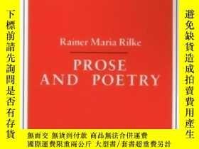 二手書博民逛書店Prose罕見And Poetry (german Library)-散文與詩歌(德國圖書館)Y436638