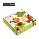 Petit Collage 美國 厚紙類益智玩具 初階拼圖系列-花園小蟲